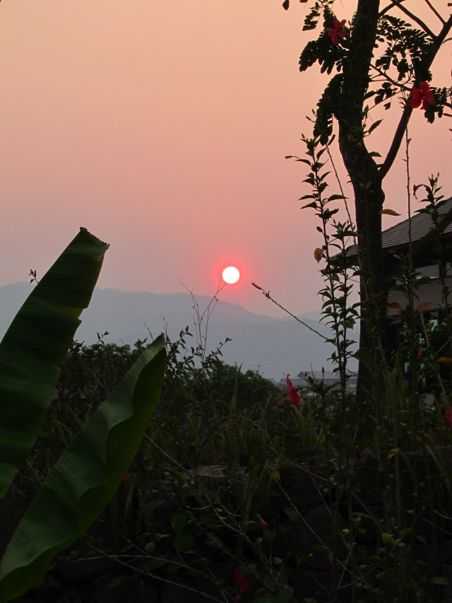 Chinese sunset