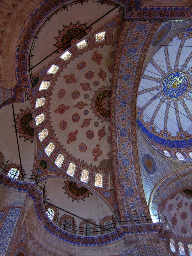 Tiled ceilings