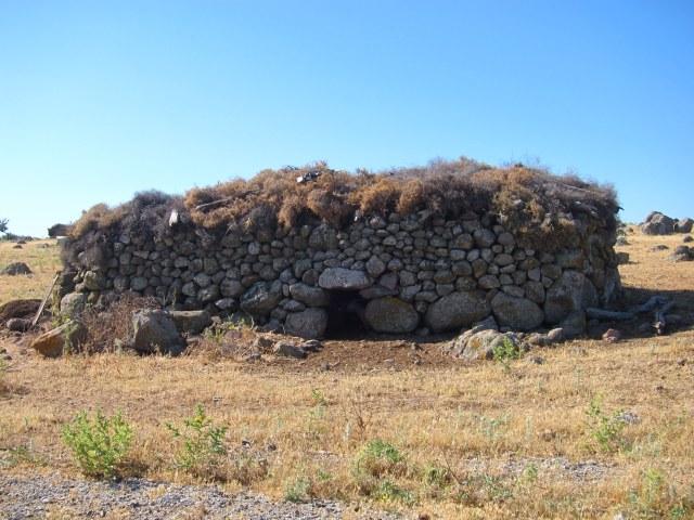 Goat hut