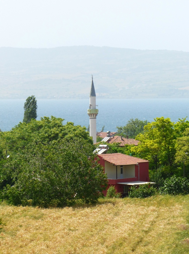 Scenic minaret