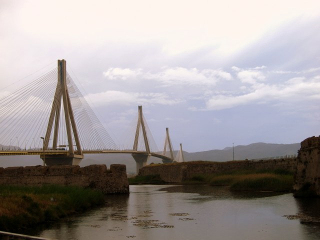 Bridge and ruins