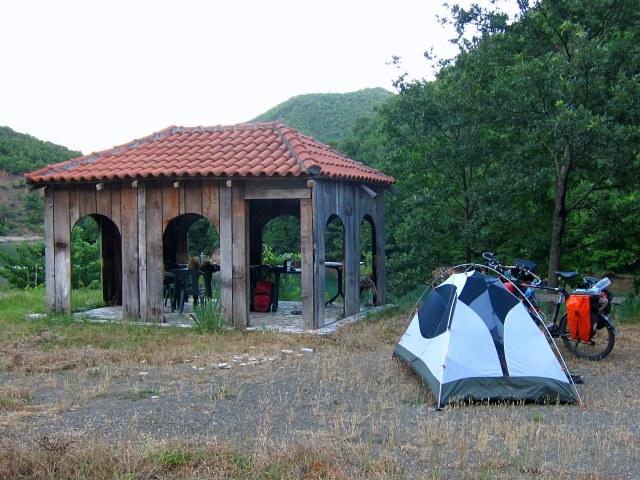 Free campsite