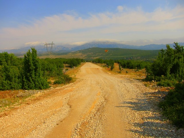 Quiet dirt road