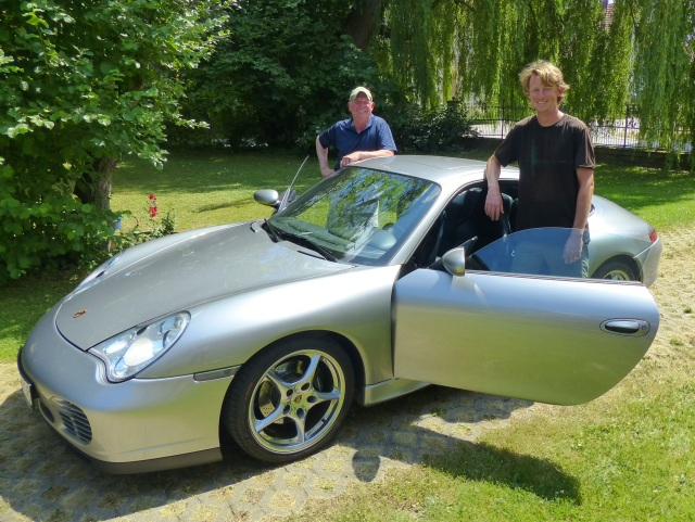 Chan, Ulrich and the Porsche
