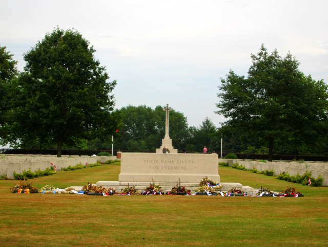 WWII Canadian Cemetary
