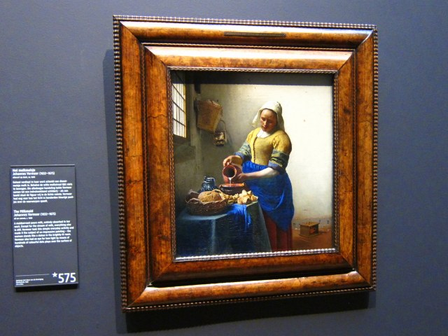 The Milk maid by Vermeer