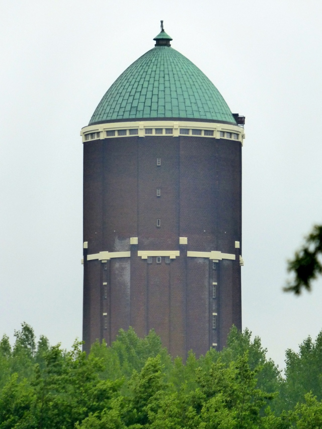 The Axel water tower