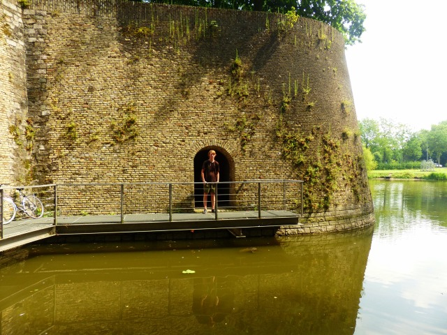 On the moat