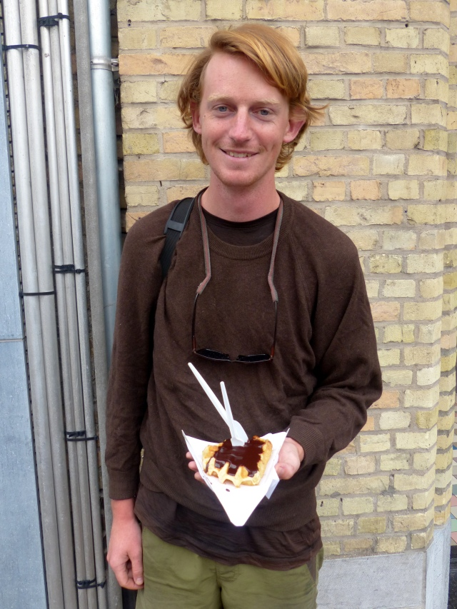 Finally, a Belgian waffle