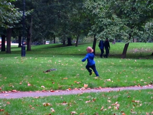 Luc, squirrel hunter