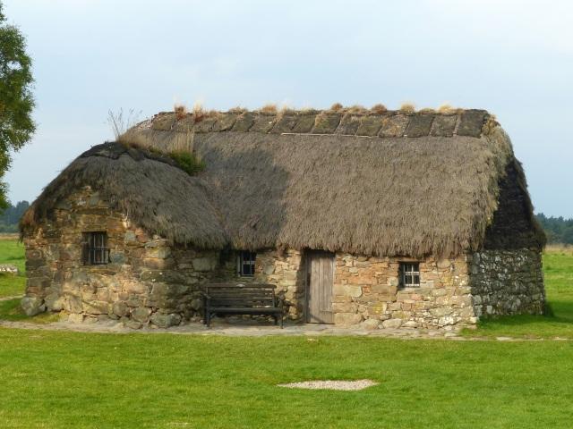 Rebuilt cottage
