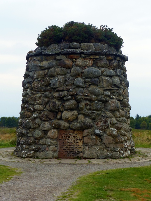 Memorial cairn for the clans