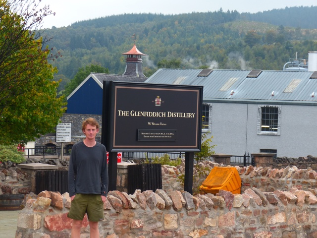 Chandler at Glenfiddich