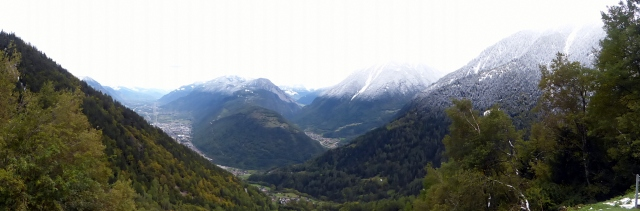 Our first view of Switzerland